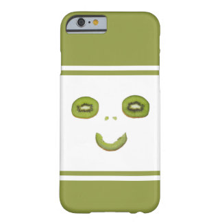 Glimlach-grappig kiwifruit barely there iPhone 6 hoesje