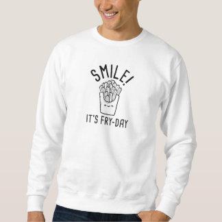 Glimlach! Het is gerecht-Dag Trui