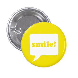 """""""glimlach!"""" knoop ronde button 3,2 cm"""