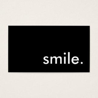 glimlach visitekaartjes