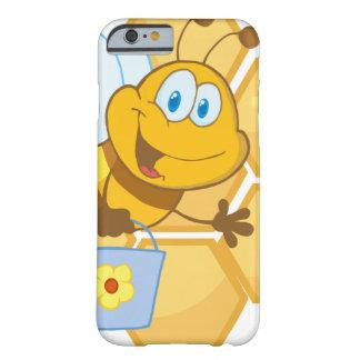 Glimlachend bij houd een emmer barely there iPhone 6 hoesje