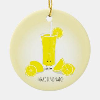 Glimlachend het Glas van de Limonade | Ornament