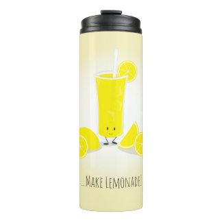 Glimlachend het Glas van de Limonade | Thermosbeker