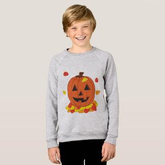 Glimlachende Pompoen Sweater