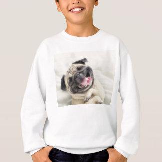 Glimlachende pug. Grappige pug Trui