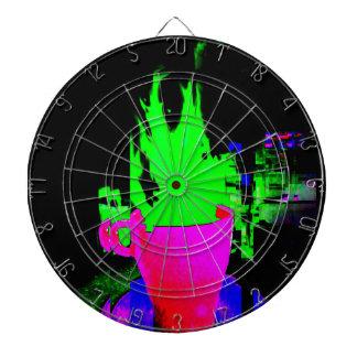 Glitch van de Kop van de thee Dartboard Dartbord