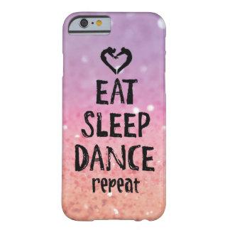 Glittery eet, Slaap, het hoesje van de Dans