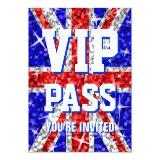 """Glitz het UK """"de uitnodiging VIP van de PAS"""""""