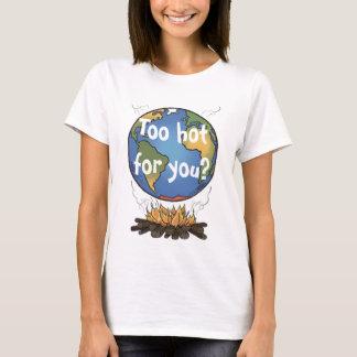 Globale het Verwarmen Voorlichting T Shirt