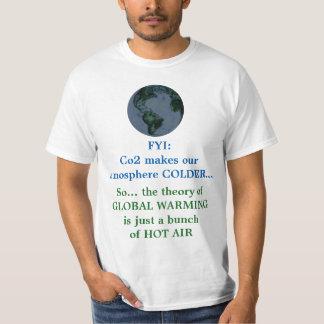 Globale het Verwarmen Waarheid versus Hoax T Shirt