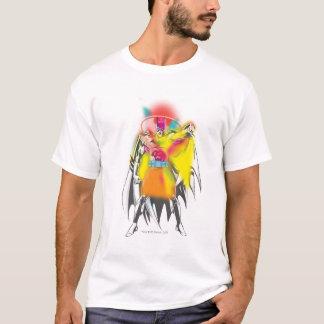 Gloed van het Neon van Batman Retro T Shirt