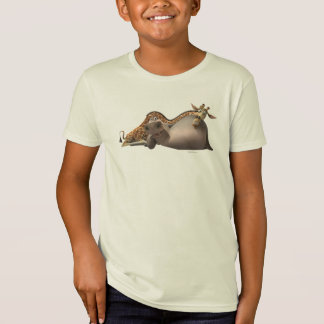 Gloria en Melman ontspannen T Shirt