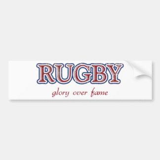 Glorie van het rugby over Bekendheid verontrustte Bumpersticker