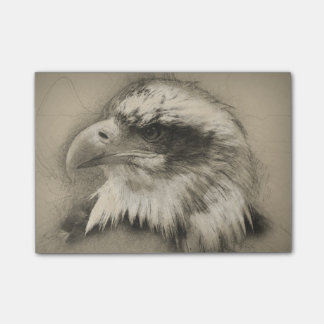 Glorierijk Kaal Eagle Setch Post-it® Notes