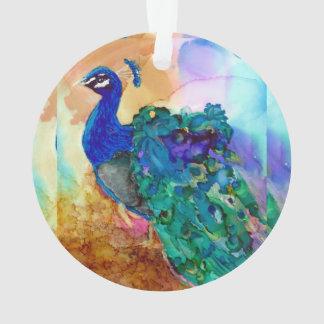 Glorierijke Pauw Ornament