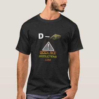 """GLP D-bunker-Alarm van de T-shirt het """": """""""