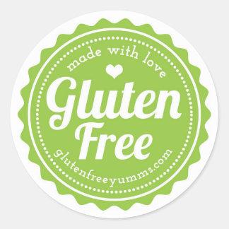 Gluten-vrije die Stickers - met Liefde worden