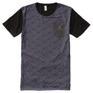 Gnarly Gedrukt T-shirt