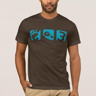 GNOOM 3 vogel mannen t-shirt