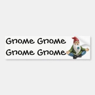 Gnoom, Gnoom, de Sticker van de Bumper van de