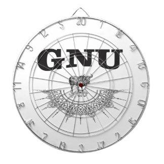 GNU vleugel Dartbord