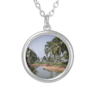 Goa India Zilver Vergulden Ketting