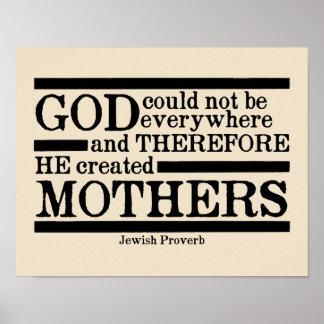 God Creëere Moeders Poster
