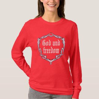 God en vrijheid t shirt