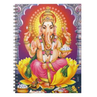 God Ganesha Ringband Notitieboek