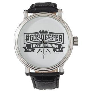 #Goddeeper Vrijheid in hem het Vintage Horloge van