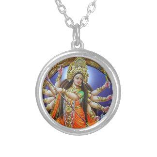 Godin Durga Zilver Vergulden Ketting