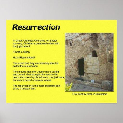 Godsdienst, Christendom, Pasen, Verrijzenis Afdruk