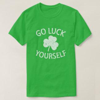 Goed Geluk zelf - Grappige St Patricks Dag T Shirt