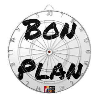 GOED PLAN - Woordspelingen - François Stad Dartbord