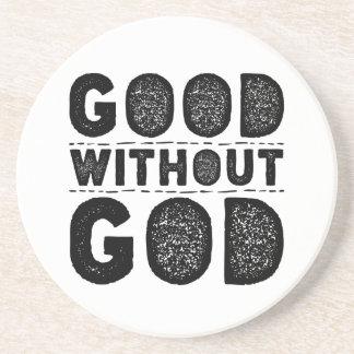 Goed zonder God Zandsteen Onderzetter