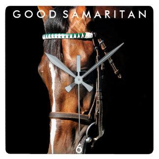Goede Samaritaan Vierkante Klok