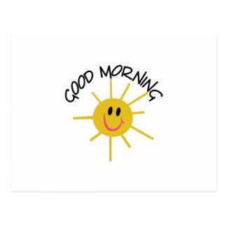 Goedemorgen Briefkaart