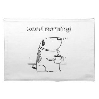 Goedemorgen Gibo Placemat