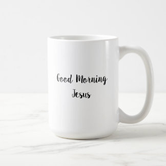 Goedemorgen Jesus Classic White Mug Koffiemok