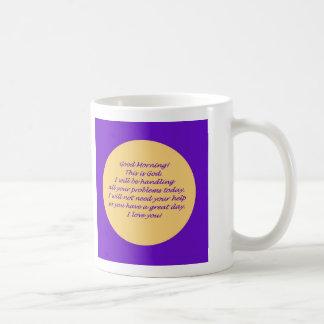 Goedemorgen van God Koffiemok