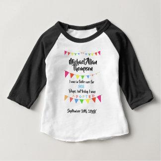 Goedgekeurd van bevorder Zorg - het Overhemd van Baby T Shirts