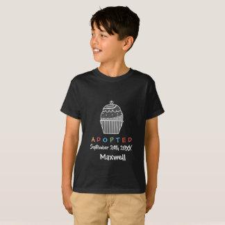 Goedgekeurde Cupcake - de Datum van de Naam van de T Shirt