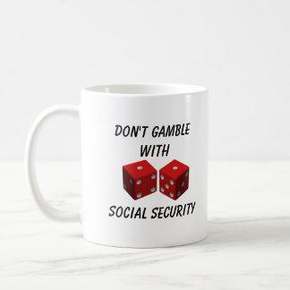 Gok niet met Sociale Voorzieningen Koffiemok