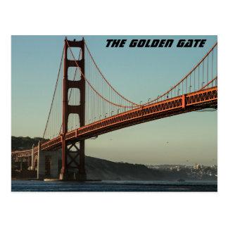 Golden gate bridge briefkaart