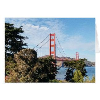 Golden gate bridge, Californië CA Kaart