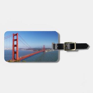 Golden gate bridge, de Reis van San Francisco Kofferlabel