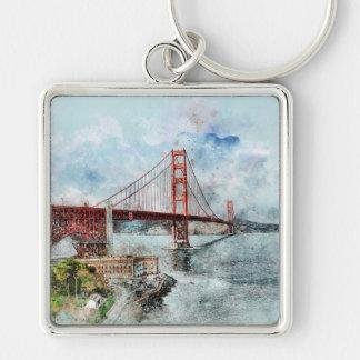 Golden gate bridge sleutelhanger