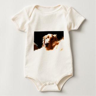 Golden retriever in Zonlicht Baby Shirt