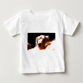 Golden retriever in Zonlicht Baby T Shirts
