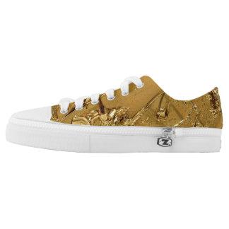 GoldMess op laag topje Low Top Schoenen